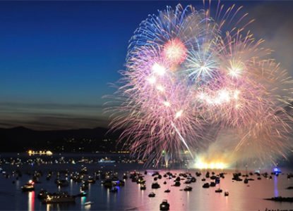 Destinos brasileiros para passar o ano novo