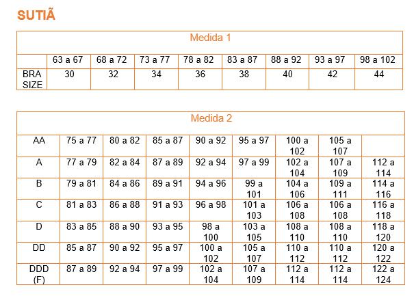 23b82b4bd Qual é o meu tamanho  Conheça a tabela de medidas dos EUA e Europa