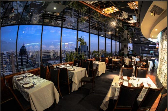 Restaurante Giratório - Santiago do Chile
