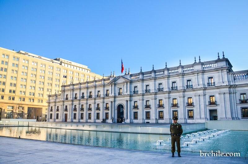 Palácio de La Moneda - Santiago do Chile