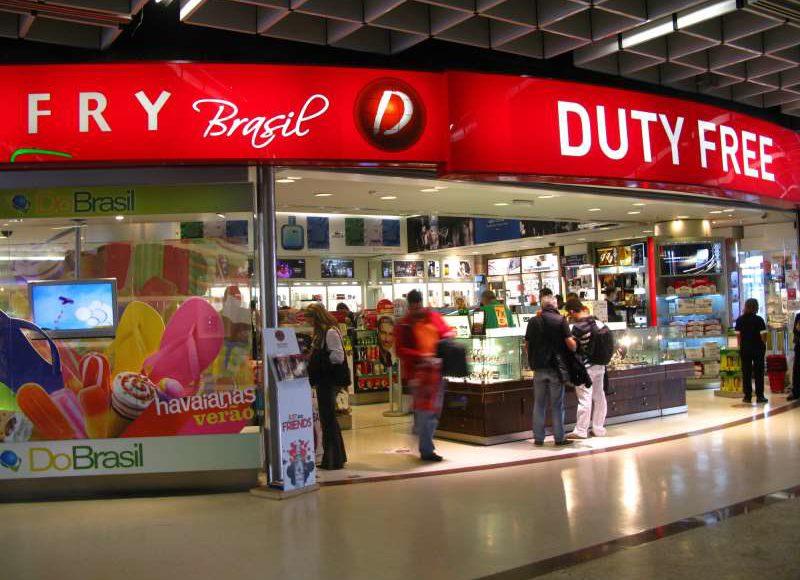Está valendo! Novo limite para compras em free shops é de R$ 1000